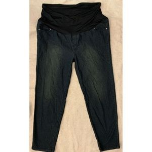 Oh! Mamma Straight Leg Maternity Jeans Size 3X